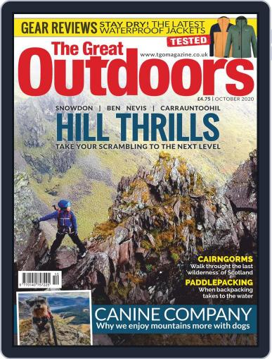 The Great Outdoors (Digital) October 1st, 2020 Issue Cover