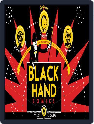 Blackhand Comics October 1st, 2014 Digital Back Issue Cover