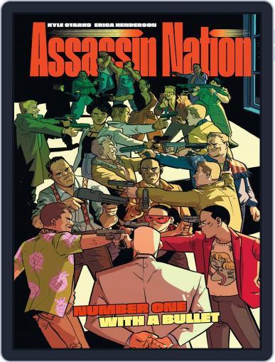 Assassin Nation September 18th, 2019 Digital Back Issue Cover