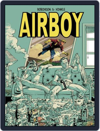 Airboy Magazine (Digital) April 27th, 2016 Issue Cover