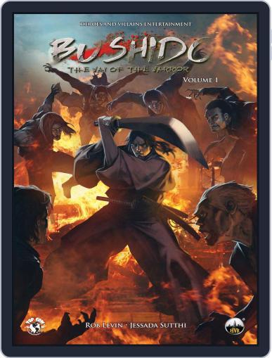 Bushido December 17th, 2014 Digital Back Issue Cover