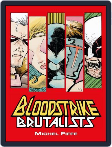 Bloodstrike: Brutalists October 24th, 2018 Digital Back Issue Cover