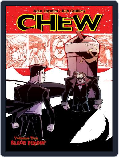 Chew August 5th, 2015 Digital Back Issue Cover