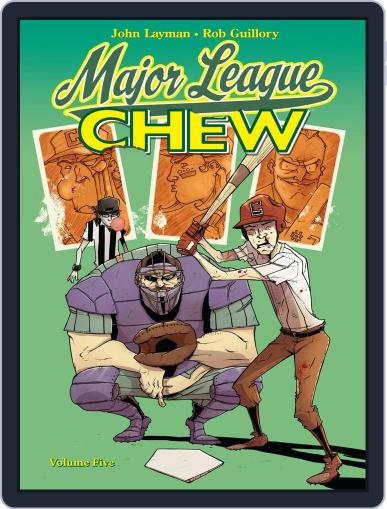 Chew April 25th, 2012 Digital Back Issue Cover
