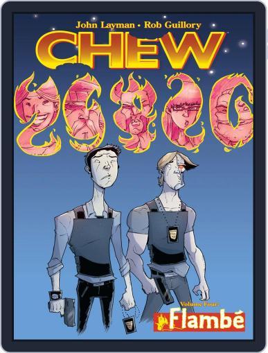 Chew September 21st, 2011 Digital Back Issue Cover