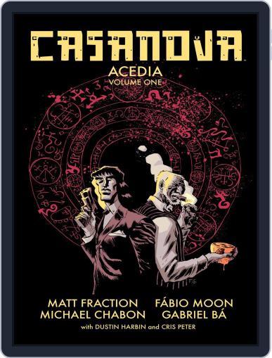 Casanova: Acedia Magazine (Digital) October 28th, 2015 Issue Cover