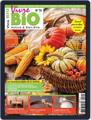 Vivre Bio September 1st, 2020 Digital Back Issue Cover