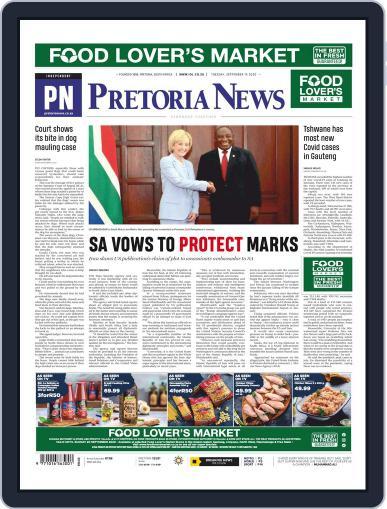 Pretoria News September 15th, 2020 Digital Back Issue Cover