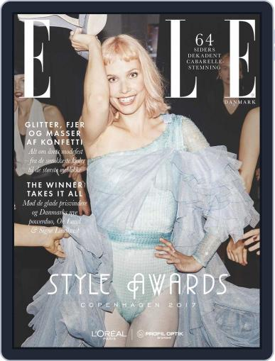 ELLE Style Awards Magazine (Digital) March 12th, 2018 Issue Cover