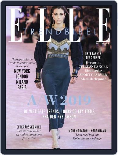 ELLE Trendbibel July 17th, 2019 Digital Back Issue Cover