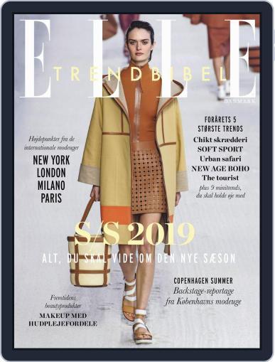 ELLE Trendbibel January 24th, 2019 Digital Back Issue Cover