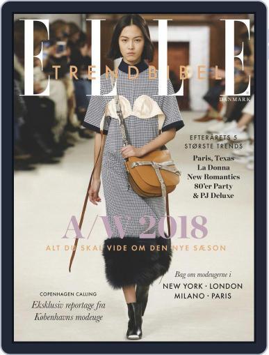 ELLE Trendbibel July 19th, 2018 Digital Back Issue Cover