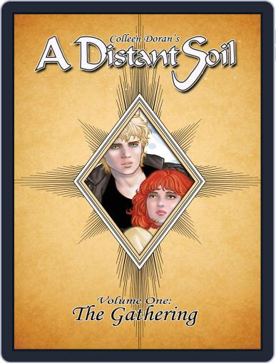 A Distant Soil Magazine (Digital) June 30th, 2013 Issue Cover