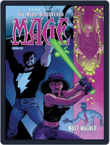 Mage October 18th, 2017 Digital Back Issue Cover