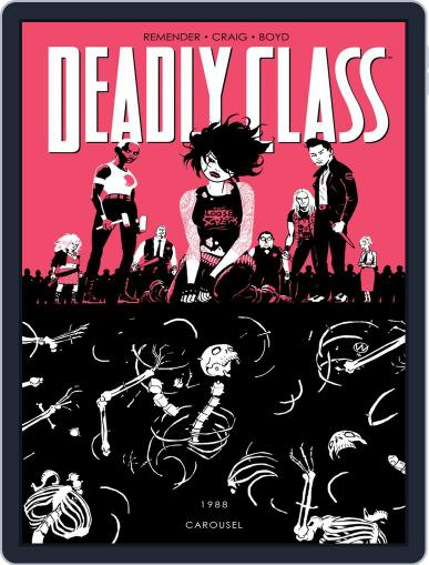Deadly Class Magazine (Digital) March 15th, 2017 Issue Cover