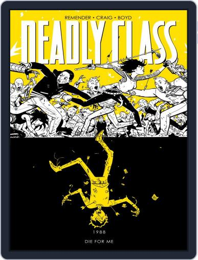 Deadly Class Magazine (Digital) August 3rd, 2016 Issue Cover