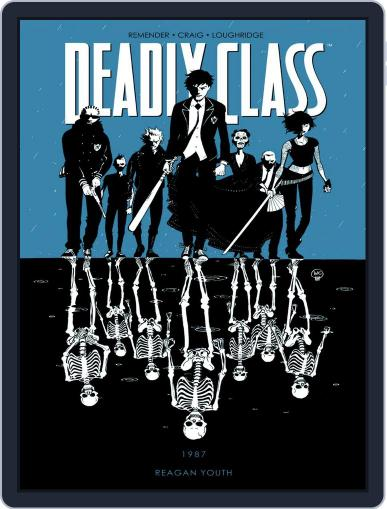 Deadly Class July 16th, 2014 Digital Back Issue Cover