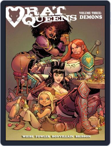 Rat Queens April 13th, 2016 Digital Back Issue Cover