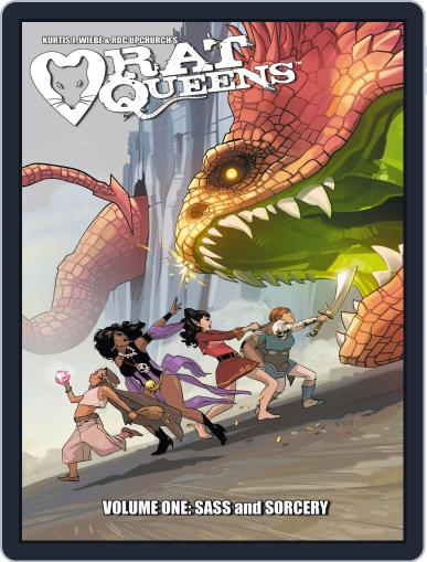 Rat Queens March 26th, 2014 Digital Back Issue Cover