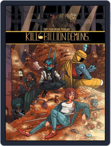 Kill Six Billion Demons Magazine (Digital) March 6th, 2019 Issue Cover