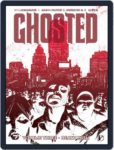 Ghosted December 10th, 2014 Digital Back Issue Cover