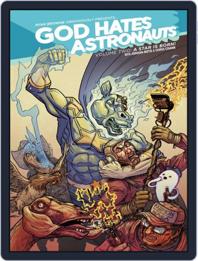 God Hates Astronauts Magazine (Digital) February 4th, 2015 Issue Cover