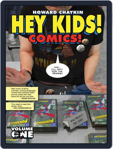 Hey Kids! Comics! Magazine (Digital) February 13th, 2019 Issue Cover