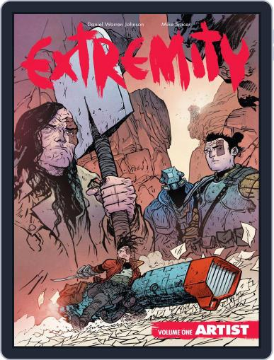 Extremity Magazine (Digital) September 6th, 2017 Issue Cover