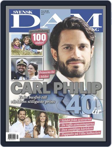 Carl Philip 40 år Magazine (Digital) May 8th, 2019 Issue Cover