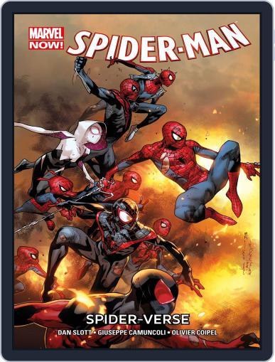 Marvel Now! Spider-Man (2014) DE Magazine (Digital) December 13th, 2016 Issue Cover