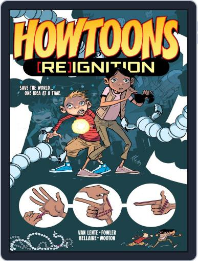 Howtoons Magazine (Digital) February 25th, 2015 Issue Cover