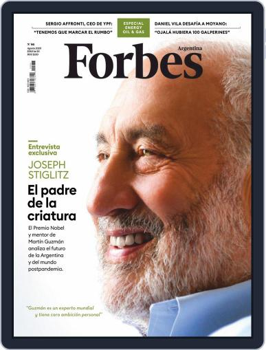 Forbes Argentina (Digital) August 1st, 2020 Issue Cover