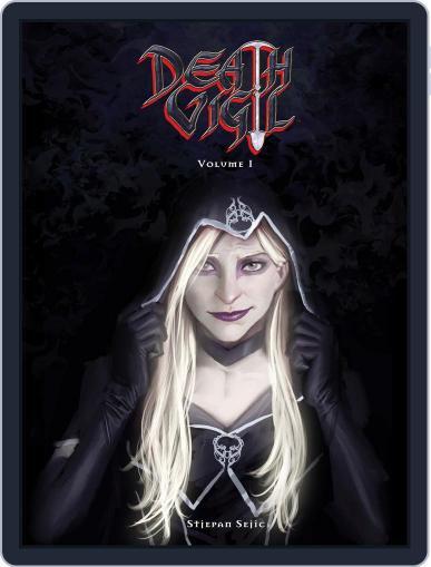 Death Vigil Magazine (Digital) October 14th, 2015 Issue Cover