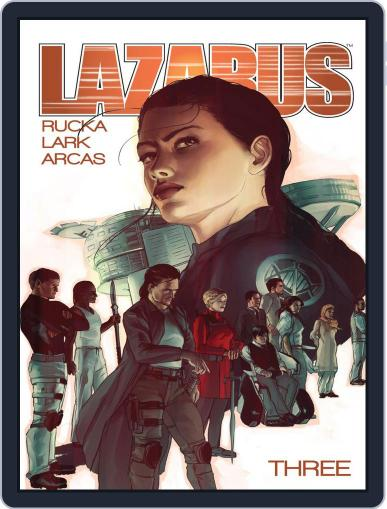 Lazarus March 18th, 2015 Digital Back Issue Cover