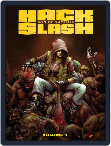 Hack/Slash: Son Of Samhain January 14th, 2015 Digital Back Issue Cover
