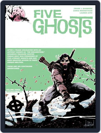 Five Ghosts Magazine (Digital) August 26th, 2015 Issue Cover