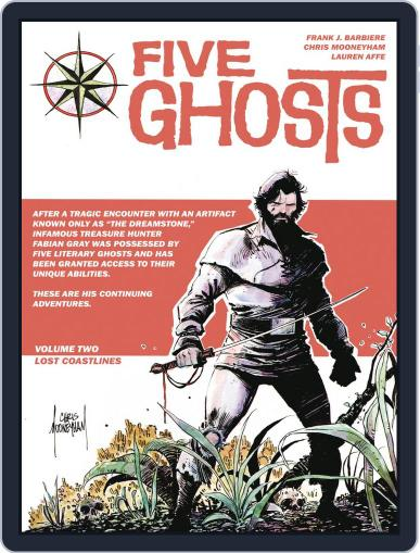 Five Ghosts July 2nd, 2014 Digital Back Issue Cover