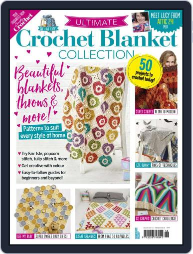 Ultimate Crochet Blanket Collection May 27th, 2020 Digital Back Issue Cover