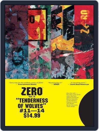 Zero Magazine (Digital) February 25th, 2015 Issue Cover