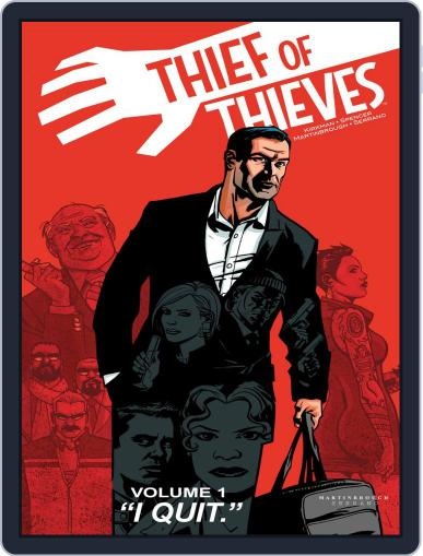 Thief Of Thieves Magazine (Digital) September 5th, 2012 Issue Cover