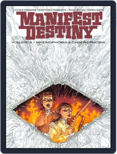 Manifest Destiny September 6th, 2017 Digital Back Issue Cover