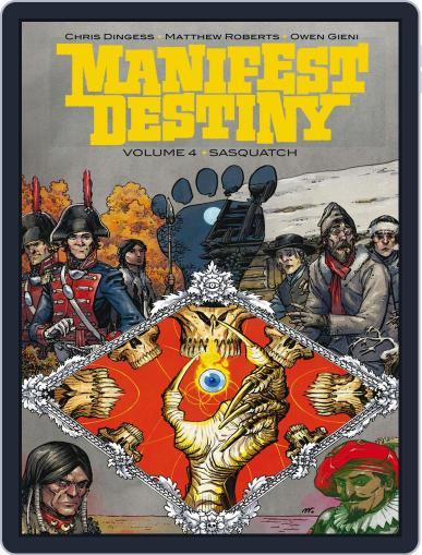 Manifest Destiny December 21st, 2016 Digital Back Issue Cover