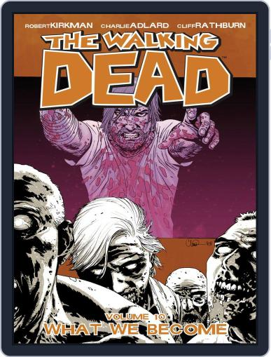The Walking Dead August 12th, 2009 Digital Back Issue Cover