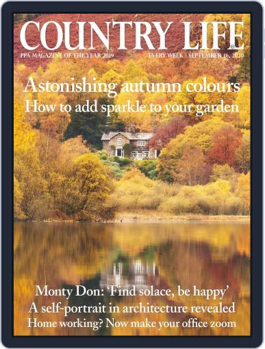 Country Life September 16th, 2020 Digital Back Issue Cover