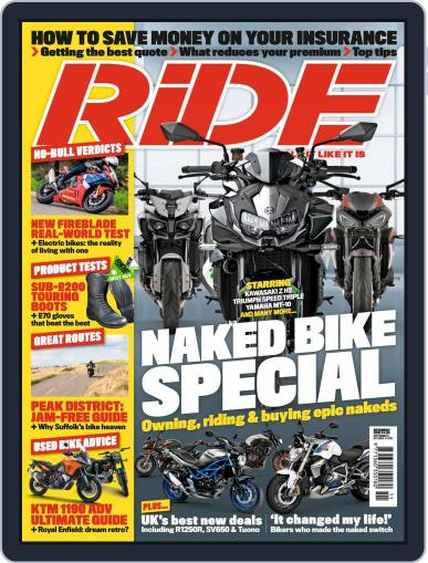 RiDE United Kingdom (Digital) November 1st, 2020 Issue Cover