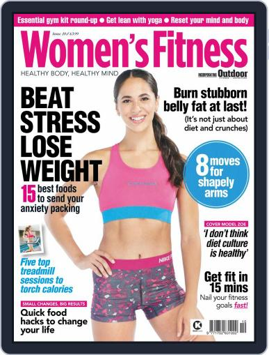 Women´s Fitness October 1st, 2020 Digital Back Issue Cover