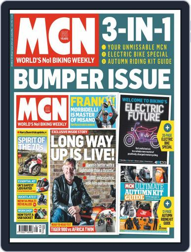 MCN (Digital) September 16th, 2020 Issue Cover