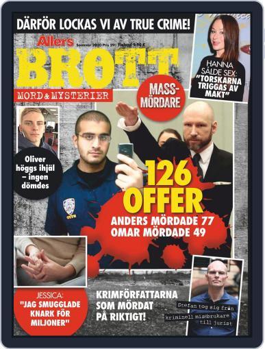 Brott, mord och mysterier (Digital) June 18th, 2020 Issue Cover