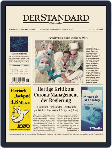 STANDARD Kompakt (Digital) September 16th, 2020 Issue Cover