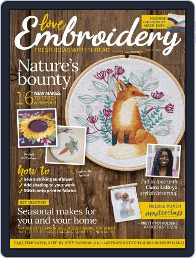 Love Embroidery September 8th, 2020 Digital Back Issue Cover
